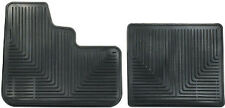 Black Rubber Slush Floor Mats for Peterbilt Trucks All-Weather High Ribbed NEW