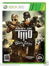 Used Xbox 360 Army of Two: The Devil's MICROSOFT JAPAN JAPANESE JAPONAIS IMPORT