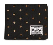 Herschel Roy Plus Coin RFID Wallet Schwarz Geldbörse Neu