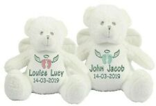 Personalised Teddy Bear Angel Fairy Gift Memory Baby Loss Keepsake