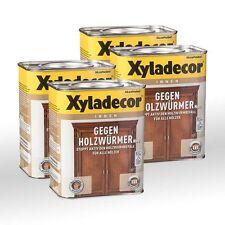 4 x Xyladecor Gegen Holzwürmer 0,75l - Holzwurmex Holzwurmtod Xylamon
