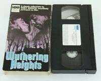 Wuthering Heights VHS Emily Bronte HBO Video Orion Timothy Dalton