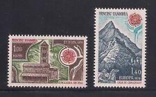 Andorra-Fr. 1978 Sc #262-63 Europa MNH (3-4465)