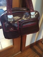 Tommy Hilfiger  Red Wine leather handbags