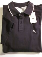 TOMMY BAHAMA Mens Golf Polo (NWT) (Sz S Small) Cotton (Black)