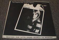 Capitol Disc Jockey Album March 1967~White Label Promo~Easy Listening Sampler