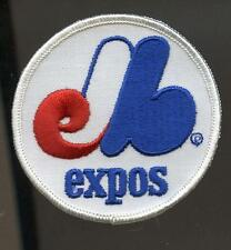 "MONTREAL EXPOS BASEBALL VINTAGE 3"" ROUND TEAM PATCH"