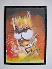 1994 SKYBOX THE SIMPSONS SERIES 2 *ARTY ART* CHASE CARD A2 **RARE**