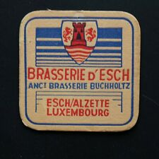 Brasserie d'Esch Luxembourg Sous-bock bierviltje bierdeckel coaster