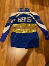 Axxxl Adult Rebel Athletic Gems Cheer Uniform