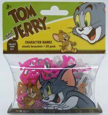 Character Bandz Tom and Jerry Elastic Bracelets 20 Pack
