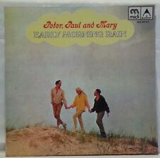 PETER, PAUL AND MARY - vintage vinyl LP - Early Morning Rain