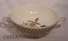 WEDGWOOD china AVOCADO YELLOW TK586 pattern Cream Soup Bowl