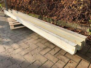 ca. 3 m Stahlträger Eisenträger I-Träger Sturz Stütze Baustahl U INP HEA HEB
