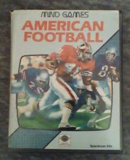 American Football by Mind Games Argus Press for Sinclair ZX Spectrum 48k 128k
