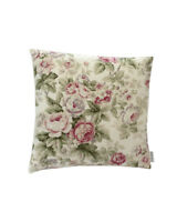 "16""  Vintage rose Cream Floral scatter cushion covers pillow sham made in UK"