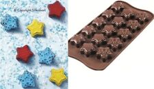 STAMPO CIOCCOLATINI IN SILICONE Winter Stars SCG 45 - Easy Choc SILIKOMART