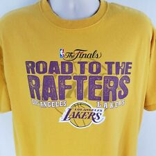 Lakers Road to the Rafters T Shirt XL Tee NBA Finals Los Angeles LA