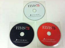 ELVIS PRESLEY - 75 TRIPLO MUSICA CD 2009 - Dischi solo in plastica maniche