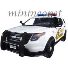 MOTORMAX 76962 2015 FORD INTERCEPTOR SUV 1/24 SAN BERNARDINO SHERIFF POLICE CAR