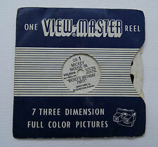 Historic/Vintage Collectable Viewmaster Photos (Pre-1940)