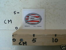 STICKER,DECAL PSV WRIGLEY'S VOETBAL SOCCER A