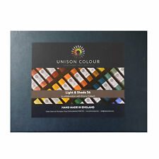 Unison Colour Handmade Soft Pastels Light & Shade Set of 36 Colours