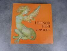 Leonor fini Graphique livre d'art  dessin érotisme années 70 cadeau curiosa