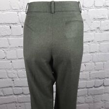 Brooks Brothers Italian Wool Grey Slacks, Size 8