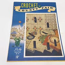 Lily Crochet County Fair Design Book No. 51