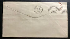 1929 Curacao First Flight Airmail Cover FFC To Cristobal Canal Zone