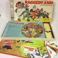 Vintage 1974 Milton Bradley Raggedy Ann Little Folks Board Game - Complete