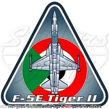 Northrop F-5E Tiger II SUDAN Aeronautica Militare Sudanese Adesivo Sticker
