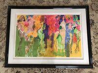 "Leroy Neiman ""Panteras"" hand signed 7/500 L.E.  Serigraph exotic dancers/ COA"