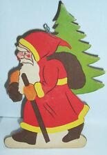 Age Pappaufsteller Père Noël à 1940/50 Noël