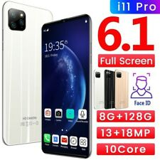 6.1 Inch Smartphone I11 Pro 10 Core Dual SIM Cards Triple Camera
