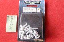 Juegos taller Warhammer 40k Astra Militarum Ratlings francotiradores x5 Metal Nuevo y en caja GW