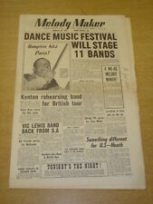 MELODY MAKER 1956 JANUARY 28 BBC FESTIVAL OF DANCE LIONEL HAMPTON STAN KENTON +