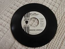 ERNESTINE ANDERSON WILL I FIND MY LOVE TODAY/THE BEST IS YET TO COME SUE 803