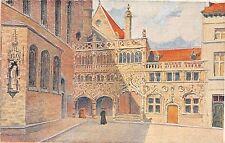 B93356  bruges chapelle du saint sang belgium  postcard painting