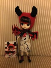 Pullip Dal Doll 10 Inch Lipoca Little Devil EUC With Card And Pitchfork