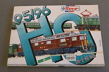 X316 ROCO Train miniature catalogueOm O Ho Hoe 1995 1996 292 pages 29,7*21 cm