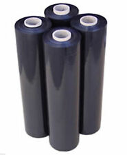 80 GA 4 black Stretch Film Rolls Wrap Packaging  18