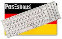 Orig QWERTZ Tastatur Toshiba Satellite L50D-B-18W L50D-B-16U L50D-B-160 DE Weiss