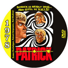 "Patrick (1978) Sci-Fi and Horror ""B"" NR CULT Movie DVD"