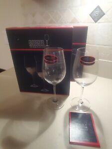 Riedel Vinum Zinfandel Riesling Grand Crystal Wine Glasses (Set of 4)