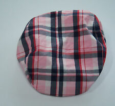 NWT Gymboree Homecoming Kitty 5-7 Pink Plaid Cap Hat