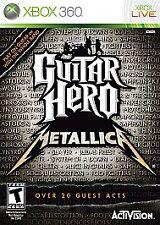 Guitar Hero: Metallica (Microsoft Xbox 360, 2009) FREE SHIPPING