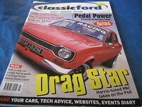 CLASSIC FORD MAGAZINE MARCH 2004 DRAG STAR MK1 ESCORT PREFECT TICKFORD TURBO RS