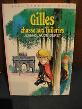 J.C.Deret -B.Rose 1977 - Gilles Chasse aux Tuileries